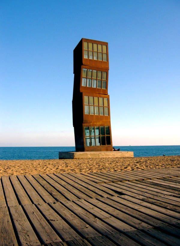 Модерн малых форм, Барселона, побережье.