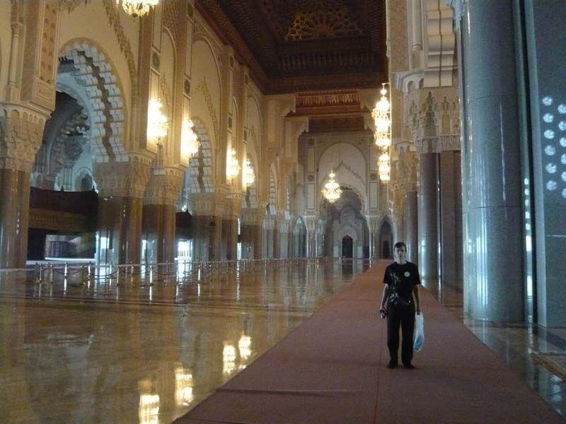 Внутреннее убранство Мечети Хасана II