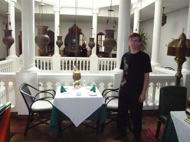 """Кафе Rick's, где снимался культовый голливудский фильм """"Касабланка""""."""