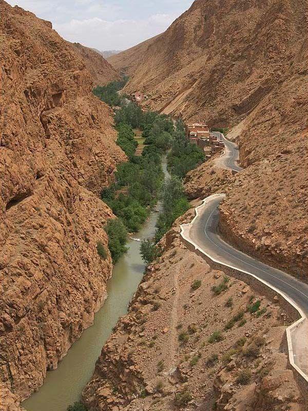 Дорога на север Марокко