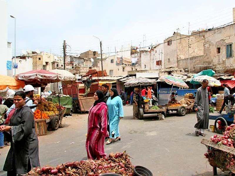 Рынок в Медине, что в небольшом провинциальном городке на севере Марокко